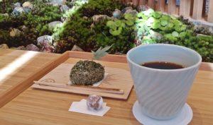 京茶珈琲のスイーツ