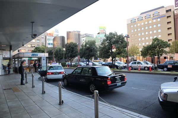 名古屋駅西口タクシー乗車場