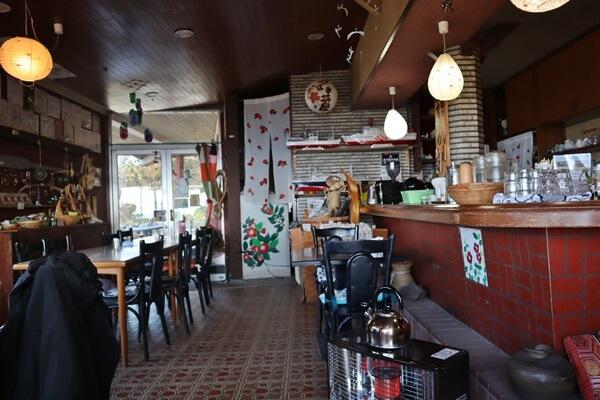 つばき茶屋の店内