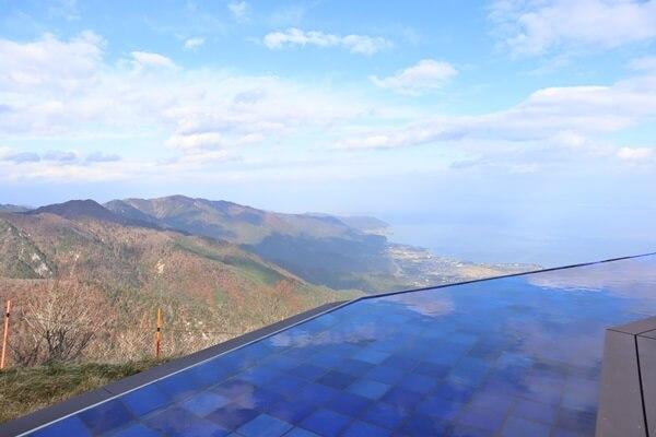 びわ湖テラスの景色