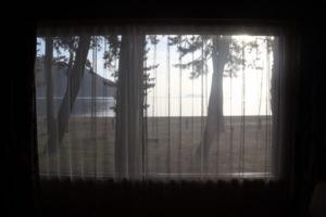 マキノグランドパークホテルの窓