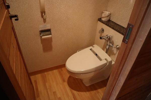 マキノグランドパークホテルのトイレ