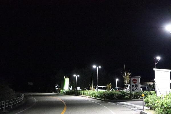 千枚田 ポケットパーク駐車場