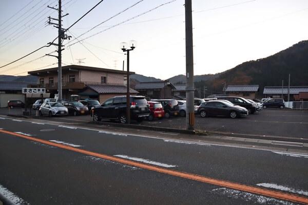 JR近江塩津駅駐車場の場所