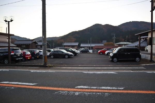 JR近江塩津駅駐車場