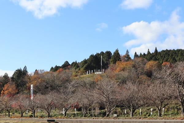 笹尾山 石田三成陣跡