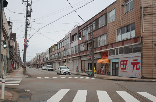 魚津の商店