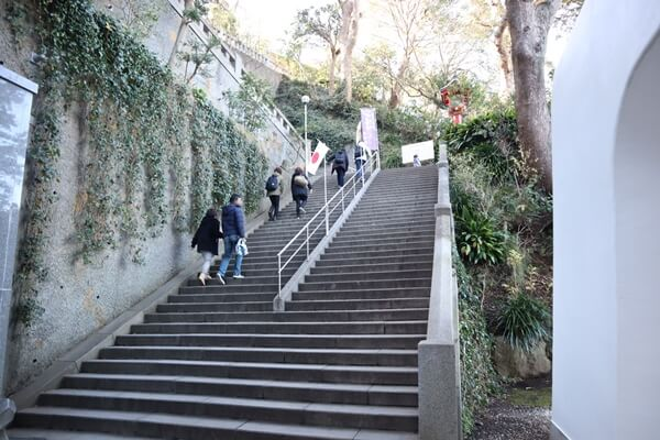 江の島の階段