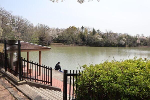 水広公園の釣り